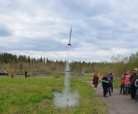 Городские соревнования по ракетомодельному спорту